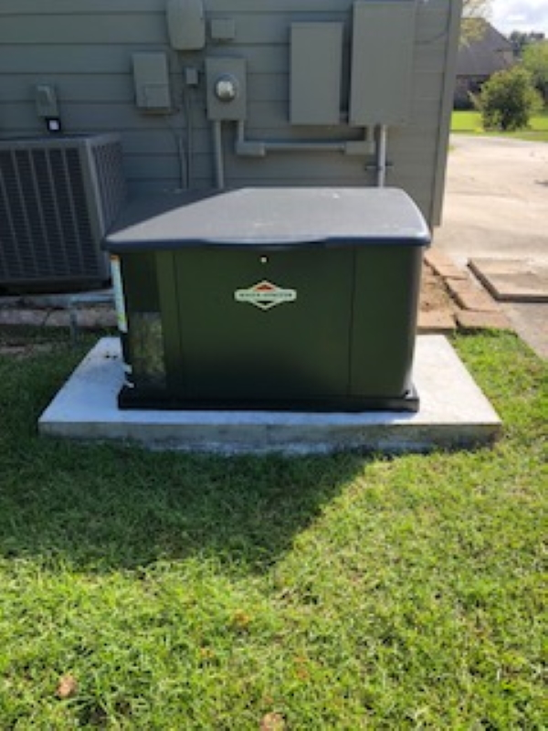 20KW Whole Home Briggs & Stratton Generator Installation in Prairieville, LA